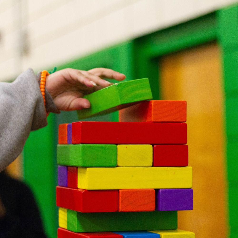 Coloured Jenga Blocks